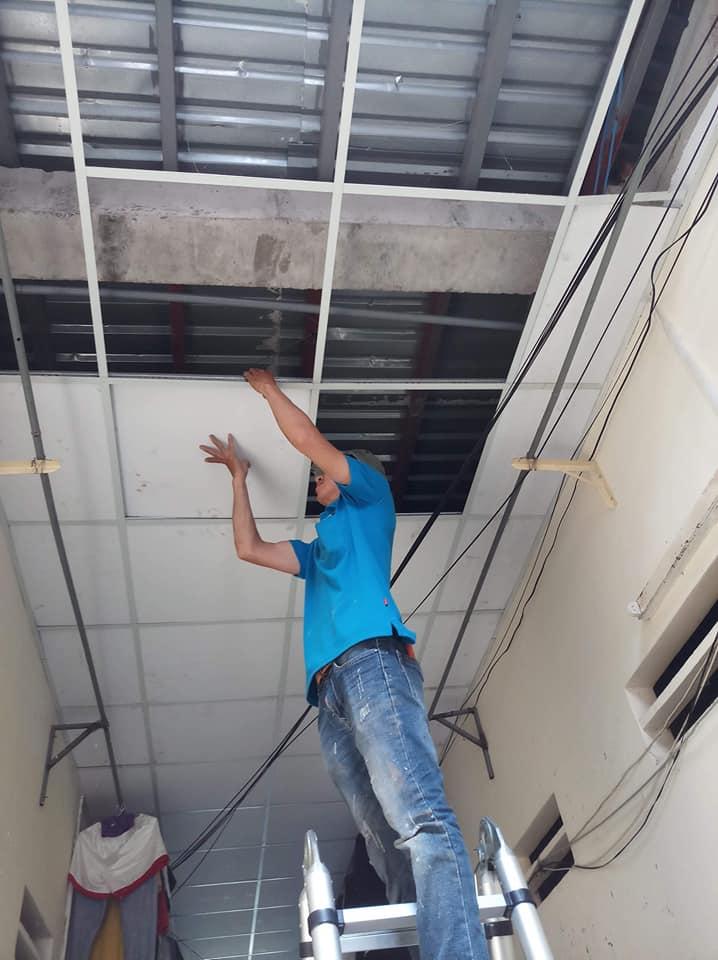 Thợ Sửa Trần LaPhông Thạch Cao Giá Rẻ TPHCM 0983 488 220