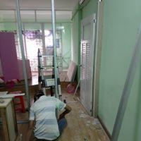 Thi Công Vách Ngăn Phòng Thạch Cao Giá Rẻ Huyện Bình Chánh TPHCM