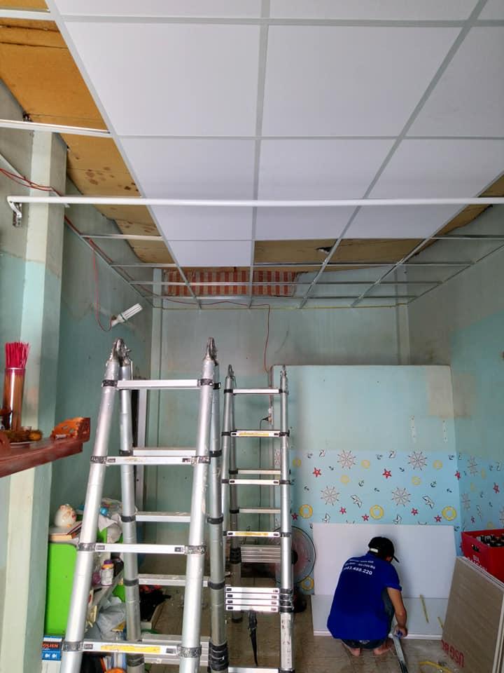 Thợ Thi Công Vách Thạch Cao Giá Rẻ Quận 6 TPHCM 0983 488 220